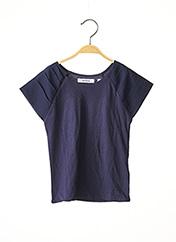 T-shirt manches courtes bleu MARESE pour fille seconde vue
