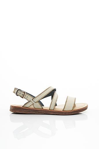 Sandales/Nu pieds blanc DELIRES DE FILLE pour femme