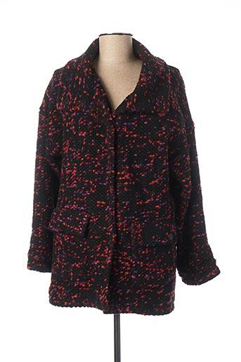 Manteau court noir JOCAVI pour femme