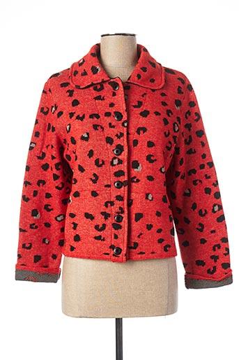 Manteau court rouge ALDOMARTINS pour femme
