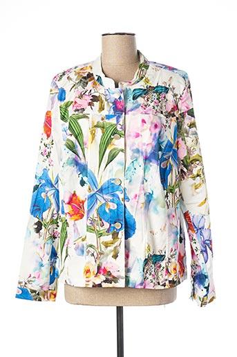 Veste casual blanc ERFO pour femme