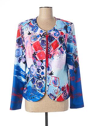 Veste casual bleu JOSEPH RIBKOFF pour femme