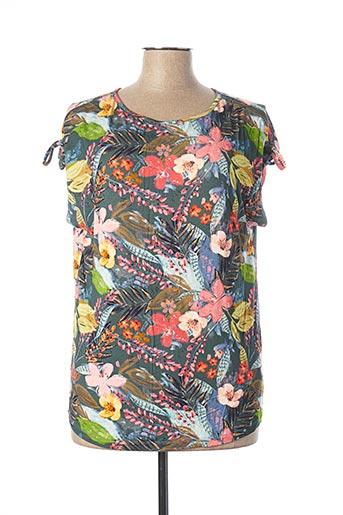 T-shirt manches courtes gris CAP JULUCA pour femme