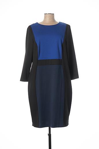 Robe mi-longue noir ERFO pour femme