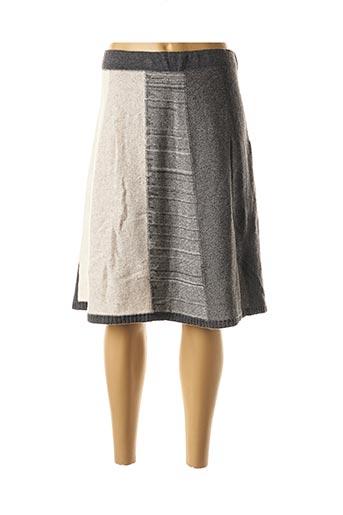Jupe mi-longue gris ESCORPION pour femme