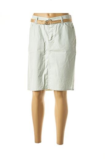 Jupe mi-longue vert COWEST pour femme