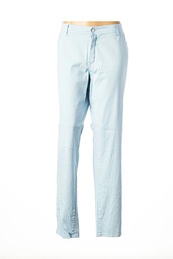 Pantalon casual bleu COWEST pour femme