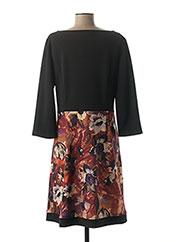 Robe mi-longue noir DIAMBRE pour femme seconde vue