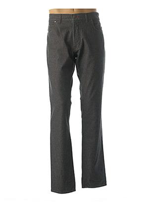 Jeans coupe droite gris GS CLUB pour homme