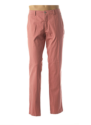 Pantalon chic rose DELAHAYE pour homme