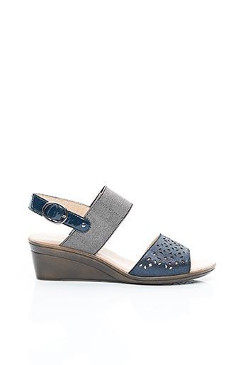 Sandales/Nu pieds bleu SWEET pour femme
