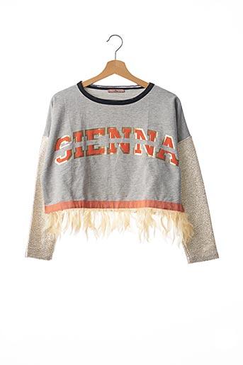 Sweat-shirt gris DUROMA pour femme