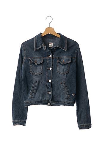 Veste en jean bleu KOCCA pour femme