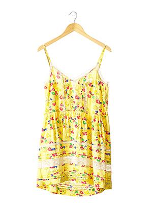 Robe mi-longue jaune PAROSH pour femme