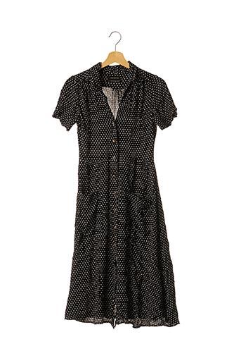 Robe mi-longue noir URBAN OUTFITTERS pour femme