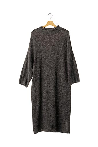 Robe pull gris MONKI pour femme