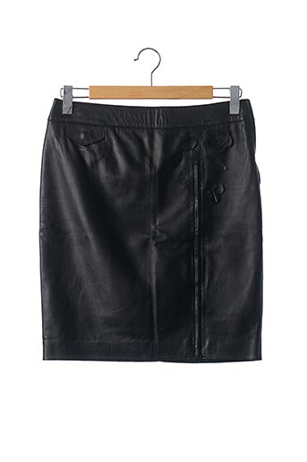 Jupe mi-longue noir MOSCHINO pour femme