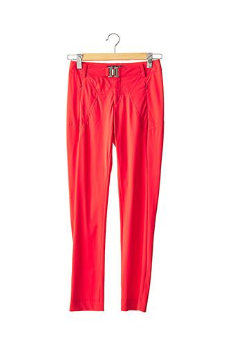 Pantalon casual rouge BLEU BLANC ROUGE pour femme