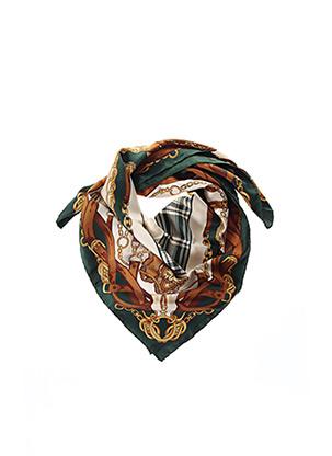 Foulard vert PROCHOWNICK pour femme