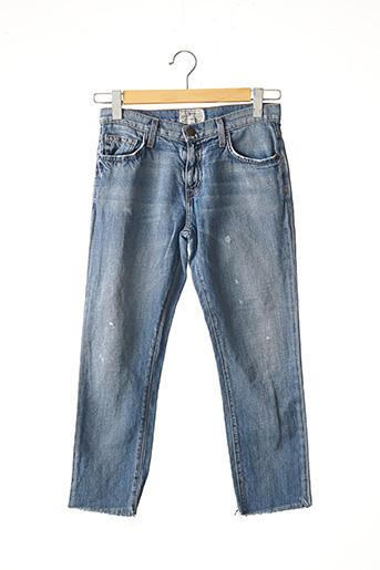 Jeans boyfriend bleu CURRENT ELLIOTT pour femme