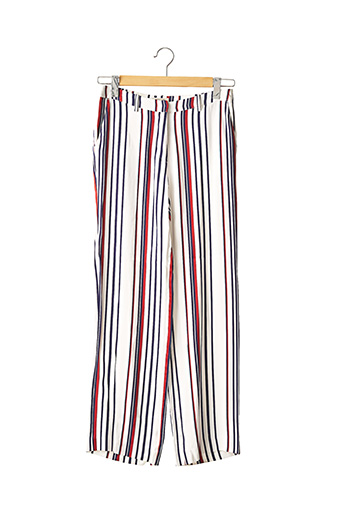 Pantalon casual blanc BAUM UND PFERDGARTEN pour femme