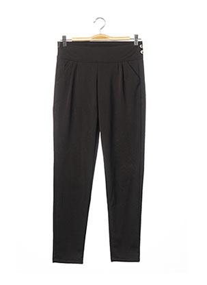 Pantalon casual noir EMAMODA pour femme