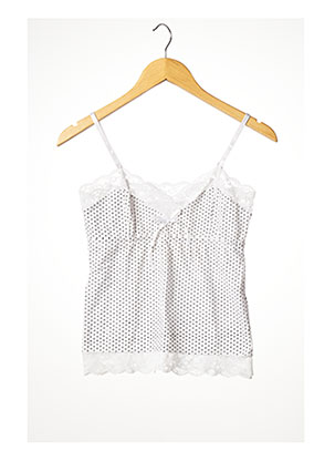 Top blanc ANDLINA pour femme