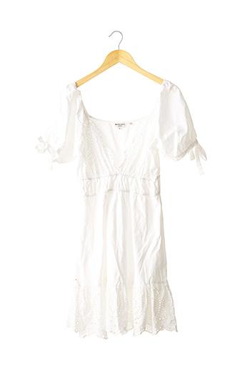 Robe mi-longue blanc BRAVE SOUL pour femme