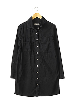 Robe courte noir DENIM CO pour femme