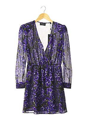 Robe courte violet THE KOOPLES pour femme