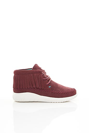 Baskets rouge ASFVLT pour femme