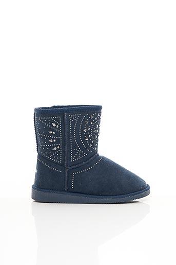 Bottines/Boots bleu ASSO pour fille