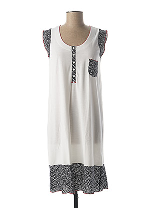 Chemise de nuit blanc SENORETTA pour femme