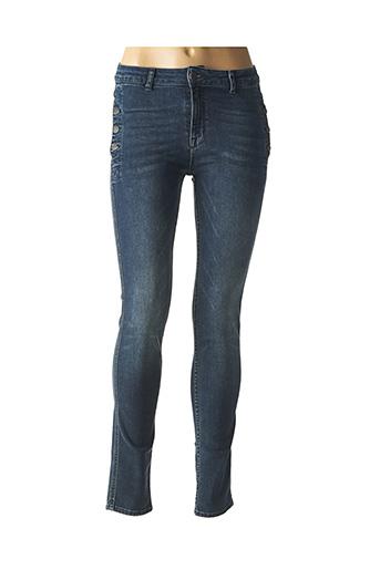 Jeans skinny bleu ZAPA pour femme