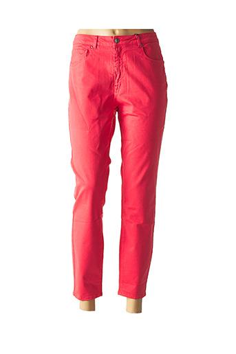 Pantalon 7/8 rouge ZAPA pour femme