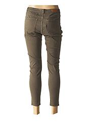 Pantalon 7/8 vert ZAPA pour femme seconde vue