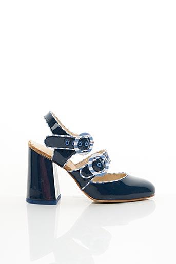 Sandales/Nu pieds bleu MELLOW YELLOW pour femme