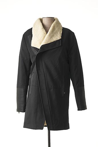 Manteau long noir GIORGIO DIMARE pour homme