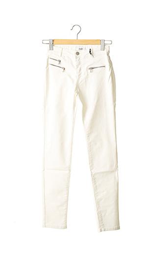 Pantalon casual blanc ZAPA pour femme