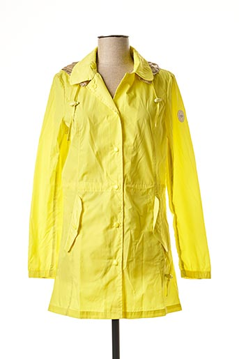 Imperméable/Trench jaune CONTE OF FLORENCE pour femme