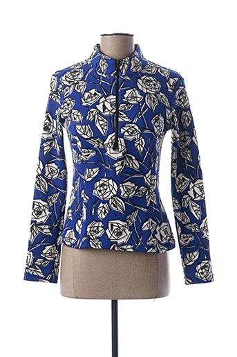 T-shirt manches longues bleu CAMOMILLA pour femme