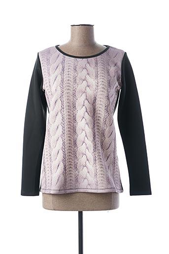 T-shirt manches longues rose CAMOMILLA pour femme