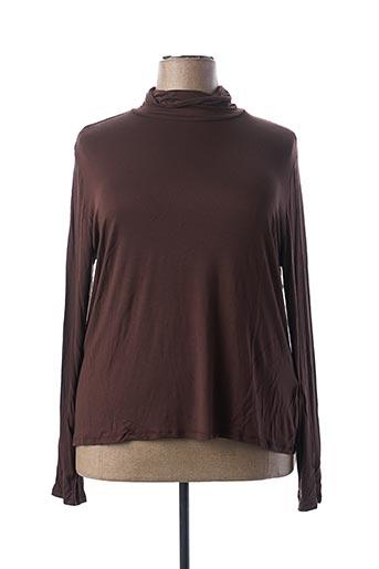 Sous-pull marron BLANCHEPORTE pour femme