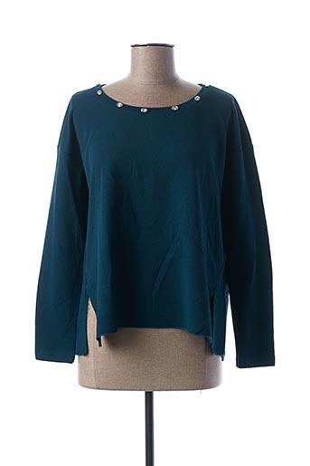Sweat-shirt noir CAMOMILLA pour femme