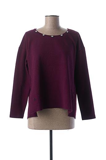 Sweat-shirt violet CAMOMILLA pour femme