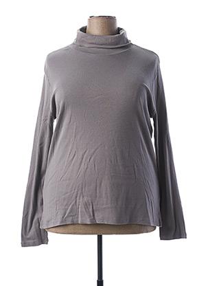 Sous-pull gris BLANCHEPORTE pour femme