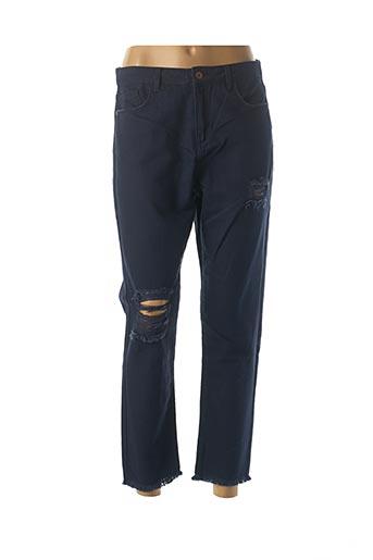 Jeans boyfriend bleu BENETTON pour femme