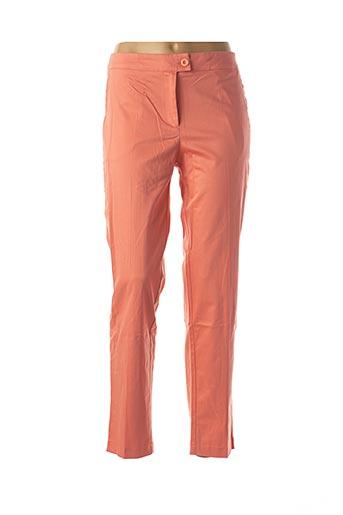 Pantalon casual rose ACCESS FASHION pour femme