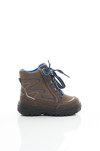 Bottines/Boots marron SUPER FIT pour garçon