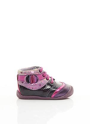 Bottillons violet BABYBOTTE pour fille